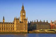 Big Ben, Houses of Parliament, UNESCO World Heritage Site, London, England, United Kingdom, Europe - RHPLF05096