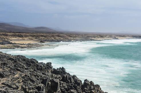 El Cotillo beach, El Cotillo, Fuerteventura, Canary Islands, Spain, Atlantic, Europe - RHPLF05387