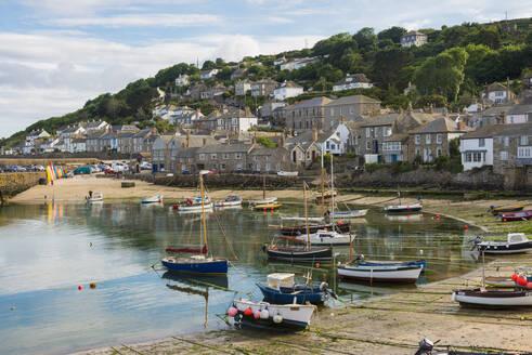 Mousehole harbour, Cornwall, England, United Kingdom, Europe - RHPLF06086