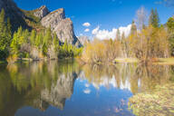 Three Brothers, Yosemite National Park, UNESCO World Heritage Site, California, United States of America, North America - RHPLF06182