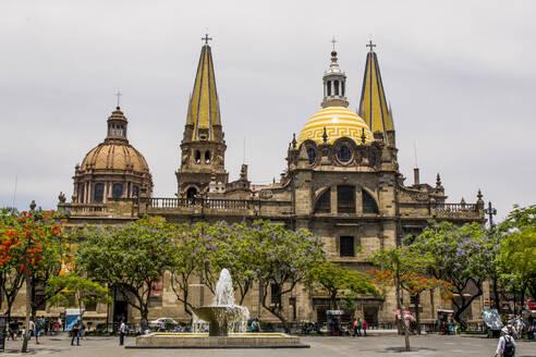 Guadalajara Cathedral, Historic Center, Guadalajara, Jalisco, Mexico, North America - RHPLF06209