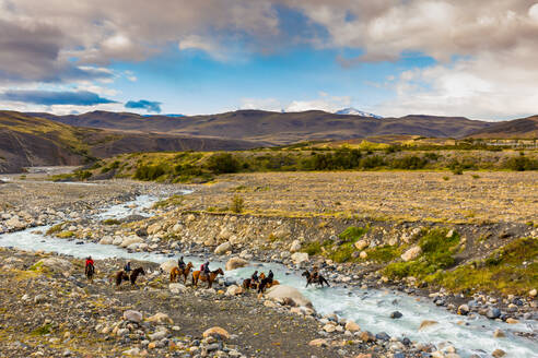 Beautiful scenery in Torres del Paine National Park, Patagonia, Chile, South America - RHPLF06281