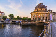Bode Museum on the River Spree in Berlin, Germany, Europe - RHPLF06976