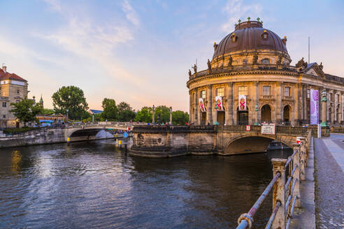 Bode Museum on the River Spree in Berlin, Germany, Europe - RHPLF06976