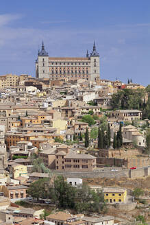 Alcazar, UNESCO World Heritage Site, Toledo, Castilla-La Mancha, Spain, Europe - RHPLF07451