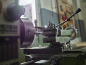 Close-up of a lathe - CVF01458