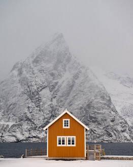 Sariskoya, Lofoten, Nordland, Arctic, Norway, Europe - RHPLF08556