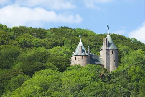 Castle Coch (Castell Coch) (The Red Castle), Tongwynlais, Cardiff, Wales, United Kingdom, Europe - RHPLF08596