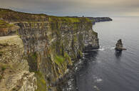 The Cliffs of Moher, near Lahinch, County Clare, Munster, Republic of Ireland, Europe - RHPLF08650