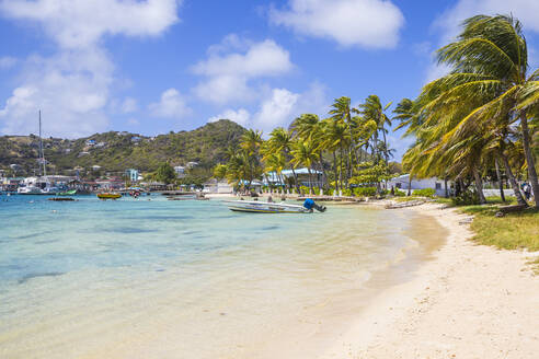 Clifton Harbour, Union Island, The Grenadines, St. Vincent and The Grenadines, West Indies, Caribbean, Central America - RHPLF09485