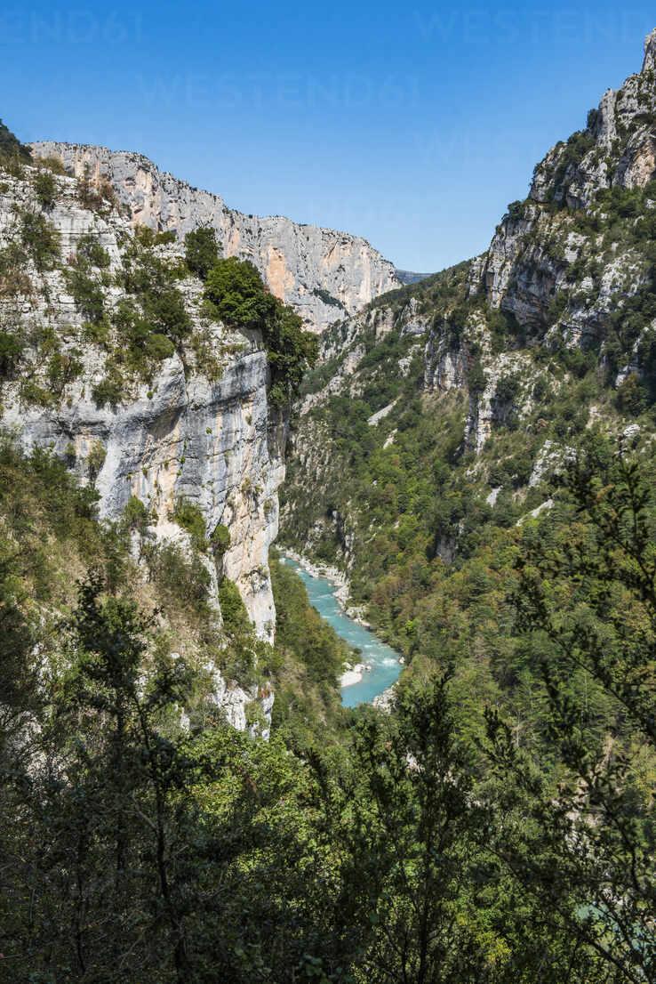 Verdon Gorge (Grand Canyon du Verdon), Alpes de Haute Provence, South of France, Europe - RHPLF09686 - RHPL/Westend61