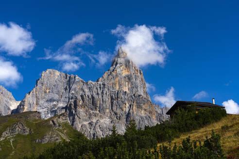 Rolle Pass, Cimon de la Pala, Dolomites, Veneto, Italy, Europe - RHPLF09710