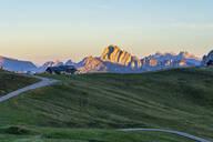 Giau Pass at sunrise, Dolomites, Veneto, Italy, Europe - RHPLF09716