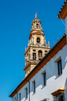 Bell Tower of La Mezquita (Great Mosque), UNESCO World Heritage Site, Cordoba, Andalucia, Spain, Europe - RHPLF10422