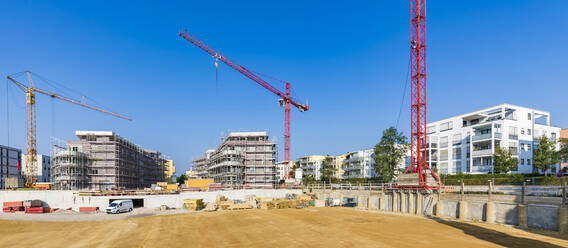 Construction site on sunny day - WDF05515