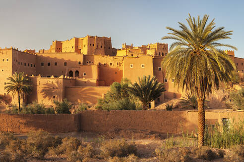 Kasbah Taourirt, Ouarzazate, Road of Kasbahs, Atlas Mountains, Southern Morocco, Morocco, North Africa, Africa - RHPLF11365