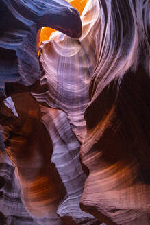 Antelope Canyon, Navajo Tribal Park, Page, Arizona, United States of America, North America - RHPLF11428