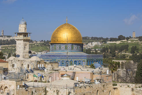 Dome of the Rock, Old City, UNESCO World Heritage Site, Jerusalem, Israel, Middle East - RHPLF11865