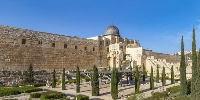 Jerusalem Archaeological Park and Davidson Center, Jerusalem, Israel, Middle East - RHPLF11874