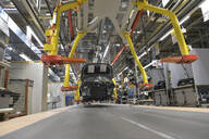 Modern automatized car production in a factory - LY00934