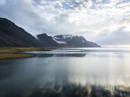 Iceland, Clouds over Jokulsarlon lake - DAMF00066