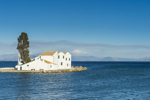 Vlacherna Monastery, Kanoni, Corfu, Ioanina islands, Greece - RUNF03330