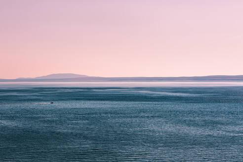 Croatia, Krk, seascape at sunset - WVF01416