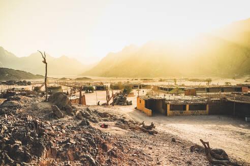 Egypt, landscape of EasternDesert - PUF01720