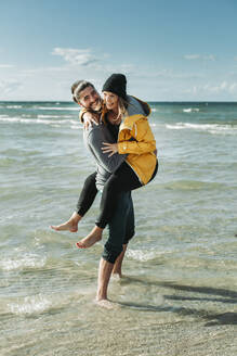 Happy couple at the beach - NAF00160