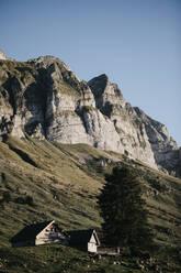 Farm in the mountains, Schwaegalp, Nesslau, Switzerland - LHPF01107
