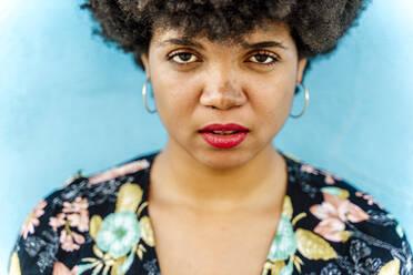 Portrait of female Afro-American woman - ERRF01767