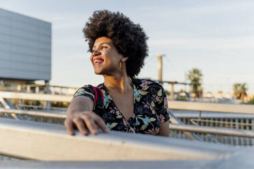 Portrait of smiling Afro-American woman - ERRF01785