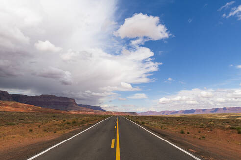Highway on the North Rim of the Grand Canyon, Arizona, United States of America, North America - RHPLF12418