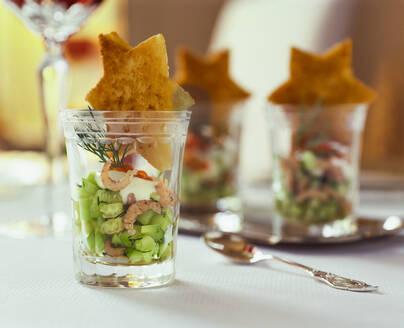 Krabben Cocktail mit Gurken im Glas - PPXF00288