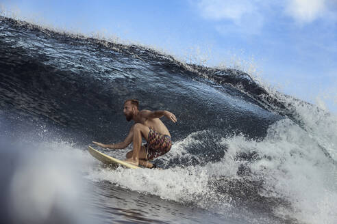 Surfer on a wave - CAVF67332