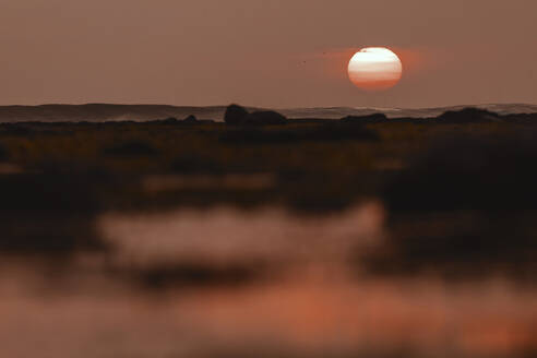 Seascape at sunset time - CAVF67619