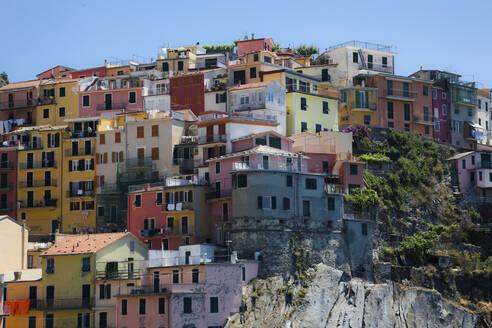 Townscape of Manarola, Liguria, Cinque Terre, Italy - GIOF07396