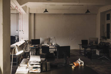 Interior of a loft office - GUSF02758