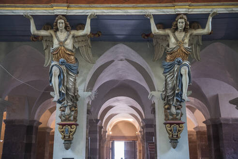 Angel figurines at Princely Abbey of Corvey, Germany - RUN03445