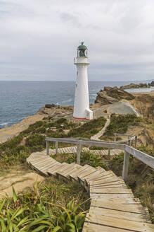 Lighthouse, Castlepoint, New Zealand - FOF11247