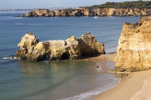 Beach, Praja da Rocha, Algarve, Portugal - FCF01835