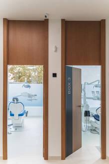 Interior of modern dental clinic, Spain - DLTSF00333