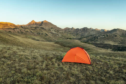 Camping in the Maroon Bells-Snowmass Wilderness - CAVF71918