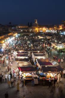 Jema al Fna Square, Marrakech, Morocco - ISF23631