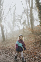Girl during forest walk - DWF00540
