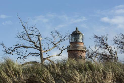 Leuchtturm Darßer Ort bei Prerow, Mecklenburg-Vorpommern, Deutschland, - STBF00525
