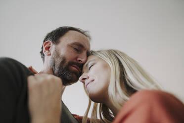 Portrait of romantic couple - KNSF07210