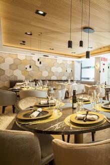 Interior of a fancy restaurant - VABF02560