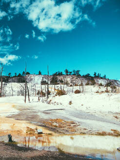 Yellowstone National Park Landscape Geysers, Hotsprings USA, Wyoming - CAVF73817