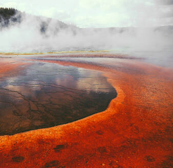 Geyser at Yellowstone National Park, USA - CAVF73829